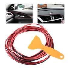 Red 5 Meter Car Flexible Interior Moulding Decorative Strip Trim Line Accessorie