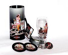 Harley-Davidson Servi-Gal Pilsner Gift Set - Ice Cream Parlor, Edie HDL-18728