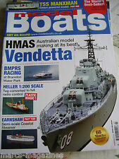 MODEL BOATS MARCH 2016 EARNSHAW STEAMER PART 2 HMAS VENDETTA TSS MANXMAN PRT 1