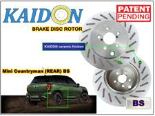 """Mini Cooper Countryman brake disc rotor KAIDON (Rear) type """"BS"""" / """"RS"""" spec"""
