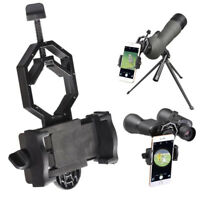 1x Telescope Spotting Scope Binoculars Microscope Mount Holder Smartphone Camera