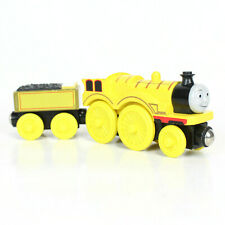 Thomas Friends Wooden Railway Train Tank Engine Molly with Tender Box Car Yellow