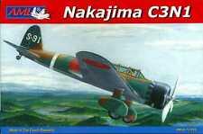 AML Models 1/72 Japanese NAKAJIMA C3N1 TYPE 97 Japanese Navy Reconnaissane Plane
