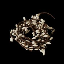 """Pip Berry String Garland 6 Feet / 72"""" in Vanilla / Ivory - Floral Crafts Decor"""