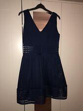 TFNC Navy Skater Dress Size 12