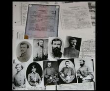 17 Confederate Generals Death Certificates + 12 Photos, Civil War Csa Survivors!