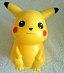 PIKACHU LARGE COLLECTABLE MONEY BOX 2001