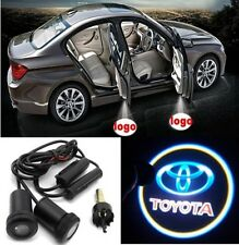 2pc Cree LED Ghost Shadow Car Door Logo Puddle Light fits TOYOTA
