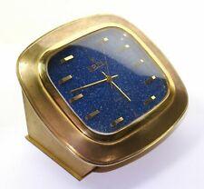 Ebel Brasilia Tischuhr Messing, Portcap Secticon Uhrwerk, Chronometerhemmung
