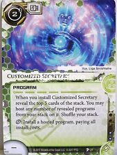Android Netrunner LCG - 1x #027 Customized Secretary - Station One