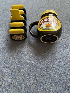 Vintage Collectible Marmite collectible mug and toast rack