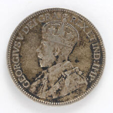 1919 Canada Silver 25 Cents George V - VF #01281883g
