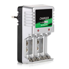 Universal Akkuladegerät Batterie Ladegerät Battery Charger für AAA/AA 9V Akkus