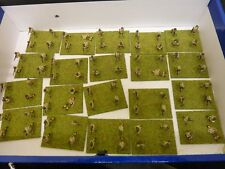 Set of Painted Military War Miniature Soldiers - Wargames Role-playing