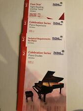 Lot of 4 Royal Conservatory Music Piano Level 2 Celebration Series 2015 Edition