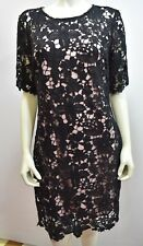 LESLIE FAY  $108 FLORAL DESIGN SHEATH DRESS *NEW* WITH TAG SZ 8
