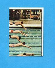 SPORT VEDETTES-PANINI 1974-Figurina n.175- NUOTO  2/4 -Recuperato