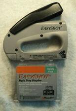 Lightly Used Easy Shot Staple Gun 5650 Opened Box Of Light Duty Staples Made USA