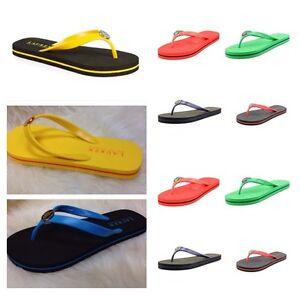 New Women's Polo Ralph Lauren Halesowen Flip Flops Summer Sandals Multi Colours