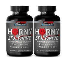 Horny Sex Drive - Extra Strength - Tongkat Ali - Aging Male Boost Penis 2B
