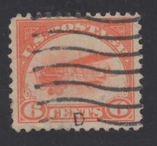 U.S.STAMP #C1 FIRST AIRMAIL - 1918 - CURTISS JENNY - USED