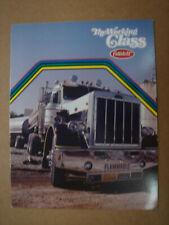 PETERBILT   Tanker trucks  brochure / Prospekt  1976.