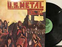 U.S. Metal Vol. III LP 1983 Shrapnel Records – SHRAPNEL 1006 Green Labels NM/NM