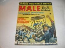 """MALE"" MAY '68 ""AGONY in the NORTH's TORTURE STOCKADE"" -MEN'S ADVENTURE STORIES!"