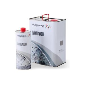 Acetone Puro 99,9° Multichimica tanica da 1 - 5 lt