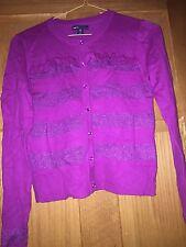 NWOT Gap Kids Girls Dressy Cardigan Button Sweater SZ. XL