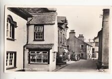 I69. Vintage Postcard.  Main Street, Hawkshead, Cumbria.