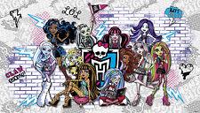 Monster High Wall Mural Kids Prepasted Wallpaper Girls Room Bedroom Home Decor