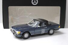 1:18 Norev Mercedes 300SL R107 Lapis-blue DEALER NEW bei PREMIUM-MODELCARS