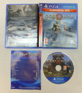 GOD OF WAR PLAYSTATION HITS VERSION GAME FOR PLAYSTATION 4 PS4 - VGC