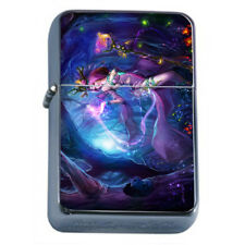 Hot Anime Witches D4 Flip Top Dual Torch Lighter Wind Resistant