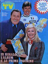 SORRISI 12 1985 Edwige Fenech Luis Miguel Vecchioni Klaus Maria Brandauer Byrne