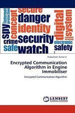 Encrypted Communication Algorithm in Engine Immobiliser by Shabareesh Kumar V. (
