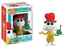 Dr. Seuss Sam I Am Flocked Grünes Ei mit Speck POP! Books #05 Vinyl Figur Funko