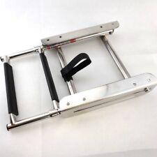 Telescoping 2-Step Slide Mount Boat Boarding Ladder  Stainless Steel