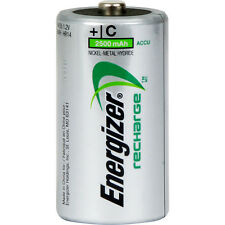 NEW 4 x Energizer Power Plus Pre Charged Rechargeable Battery C 2500mAh 2 Pack