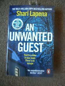 AN UNWANTED GUEST PB Book SHARI LAPENA NEW RRP £8.99  Free P & P