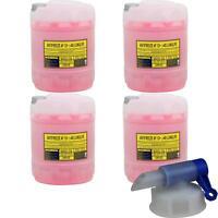 80L Kühlerfrostschutz Typ G12+ MANNOL MN Antifreeze (- 40°C) rosa + Auslaufhahn