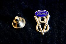 Ford Blue Oval V8 Hat Lapel Pin Accessory F100 F150 Ranger F250 Coupe Deluxe