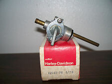 62163-75 fuel valve harley davidson 1975/early 76 XLH/XLCH