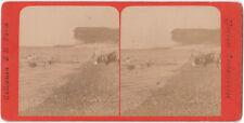 Original 1870er J. Stereofoto Marines Instantanées von E. H. Paris