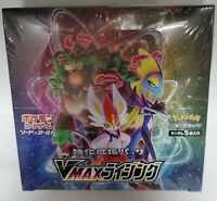 New Pokemon Card Game Sword & Shield VMAX Rising  Expansion Booster Box JAPAN