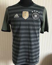 GERMANY DEUTSCHLAND ADIDAS 2015 AWAY FOOTBALL SHIRT BOYS SIZE XL SOCCER JERSEY