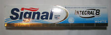 Dentifrice * SIGNAL Integral 8 actions * WHITE * Dents blanches * 100 % NEUF