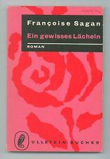 Ein gewisses Lächeln - Francoise Sagan, Ullstein Taschenbuchverlag 1959,