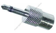 """F-1/8"""" 3.5mm TV,Coax,Cable,Satellite,Antenna  Adapter"""